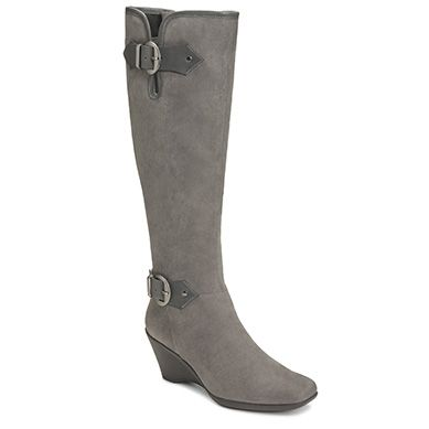 View our Wonderful Knee High Wedge Boot at Aerosoles. Shop our large  variety of comfortable, fashionable, and affordable Women's Boots & Booties