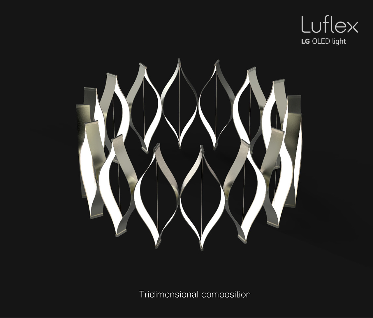 Luflex #LG #OLED #display #lighting #light #Eye_comfort
