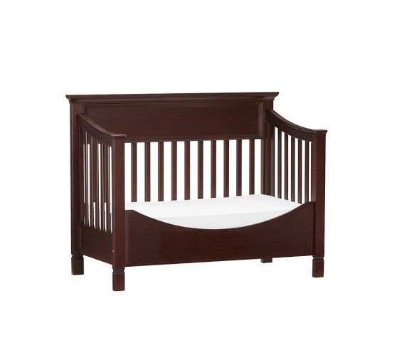 Larkin Fixed Gate 4 In 1 Crib | Pottery Barn Kids   Toddler Conversion