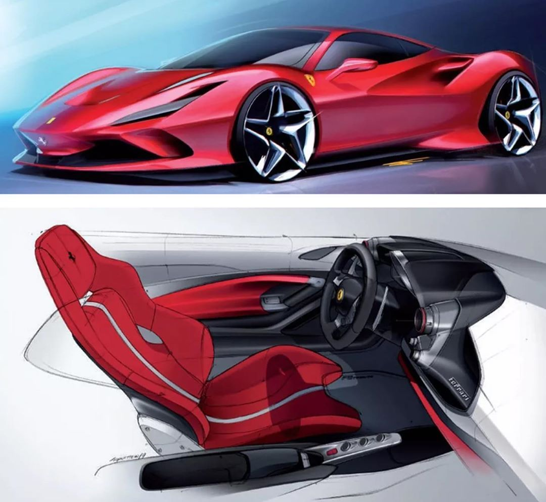 Ferrari 612 GTO Concept – [2010] | Supercar Sketches |Ferrari Design Sketches