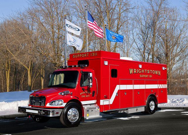 Pierce Wrightstown Wi 24722 Fire Trucks Fire Service Fire Rescue