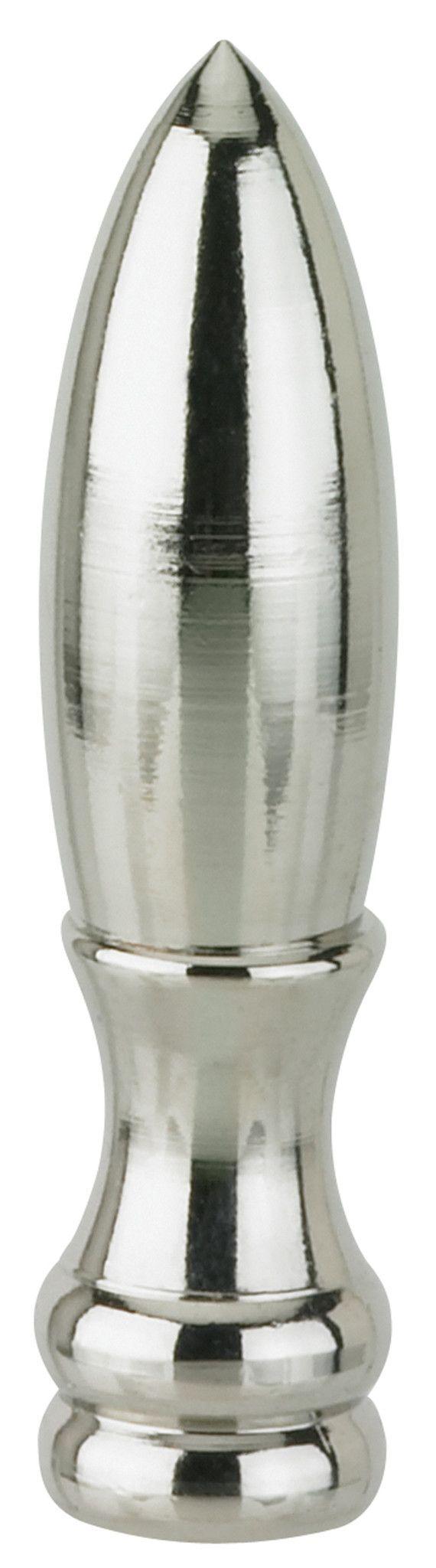 Finial Lamp Nickel