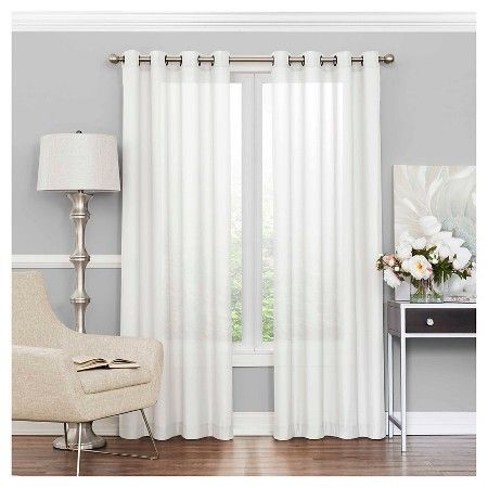 Liberty Light Filtering Sheer Curtain EclipseTM Target