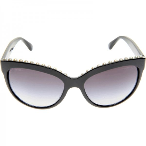 4ab39c3d9b7 Rihanna CHANEL 6040 Pearl Sunglasses found on Polyvore featuring polyvore