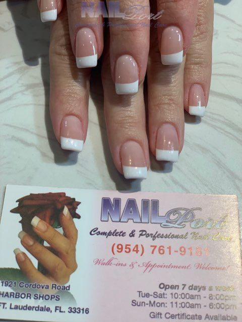 ️🍀 Life is not perfect, but your nails can be! ✯ ✯ ✯ ✯ ✯ 𝐍𝐚𝐢𝐥 𝐏𝐨𝐫𝐭 🏤 1921 Cordova Rd, Fort Lauderdale, FL 33316 ☎️ (954) 761-9181 🌎  #Dippowder #Nails #Manicure #Pedicure #AcrylicNails #Pink&White #HealthyNails #GelPolish #Waxing #Eyebrow #Nailtrends #Hottrends #Nailsalon #Nailcolors #coffinnails #LauderdaleFlorida #33316