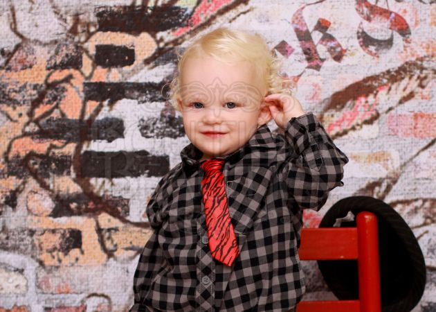 CHACE modeling for Charm City Chic Couture
