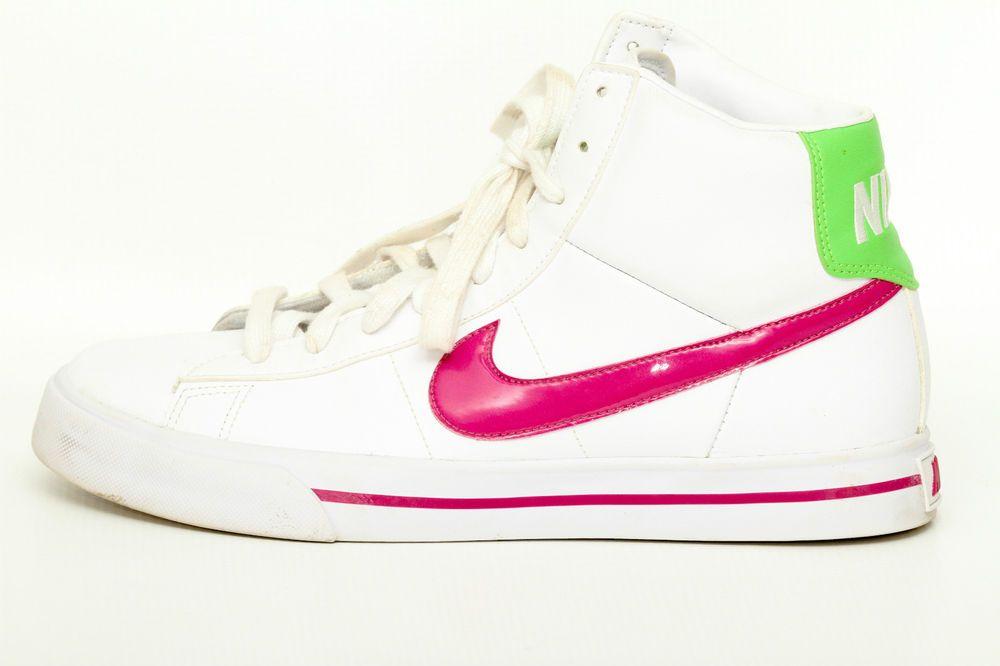 3b445d24e Nike BRS Women s White High Top Sneakers Shoes Size 9  Nike  FashionSneakers