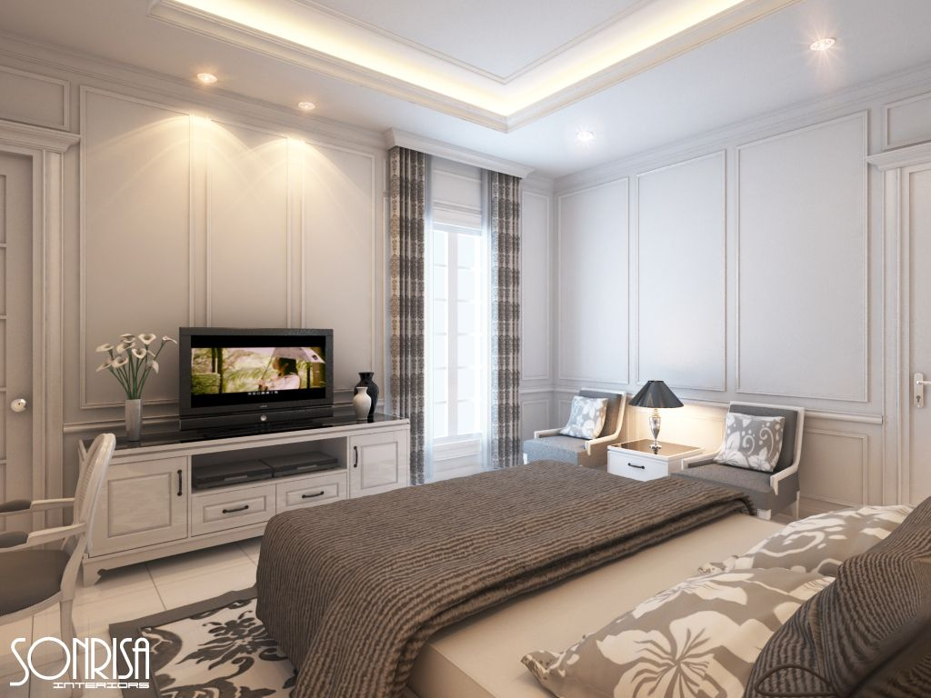 Bedroom Cream Color And Lighting Inspiration
