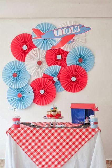 Painel com rosetas de papel manualidades pinterest - Decoracion marinera barata ...