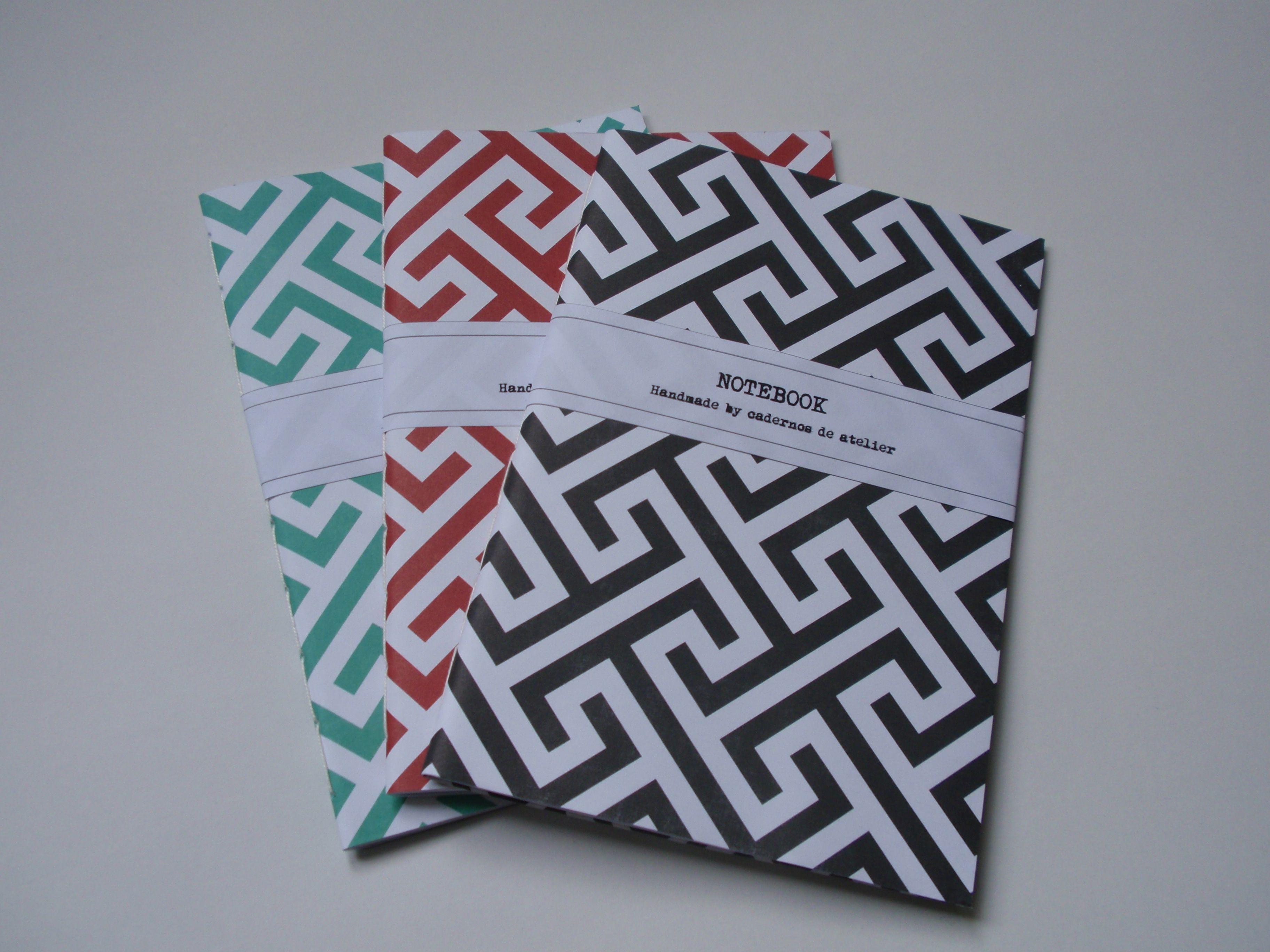 Notebooks / Cadernos A5 handmade by Cadernos de atelier facebook.com/cadernosdeatelier