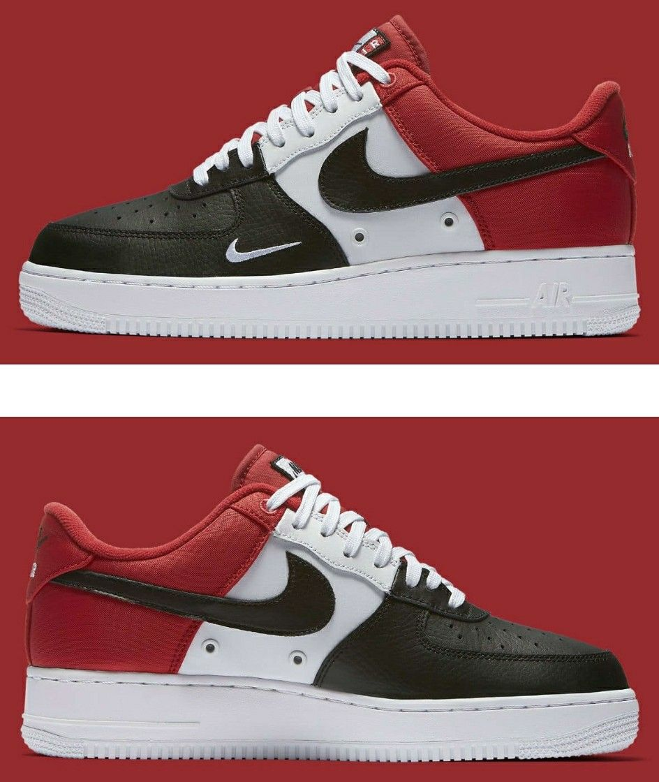 The latest Mini Swoosh-branded Nike Air Force 1 Low to surface is  reminiscent of