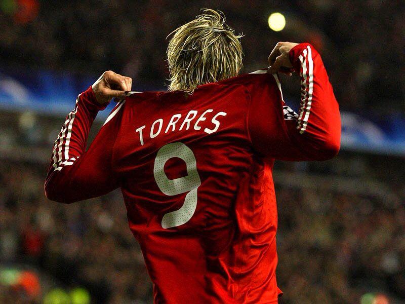 Torres in liverpool   Fernando torres, Liverpool ...