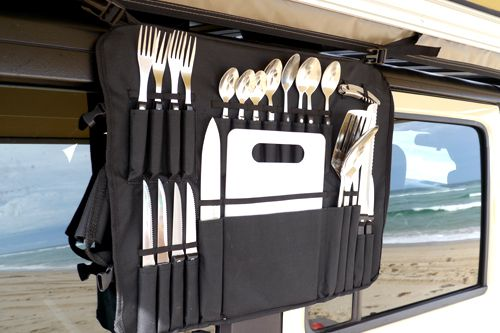 Front Runner Vehicle Outfitters Camp Kitchen Utensil Set W Roll