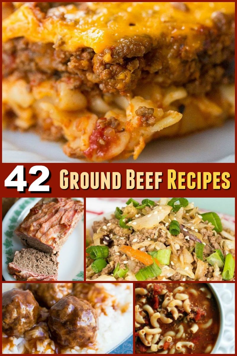 Here S 42 Ground Beef Recipes For Soup Casseroles Stove Top Dinners And More This List Is All Fast Ground Beef Recipes Easy Ground Beef Recipes Beef Recipes