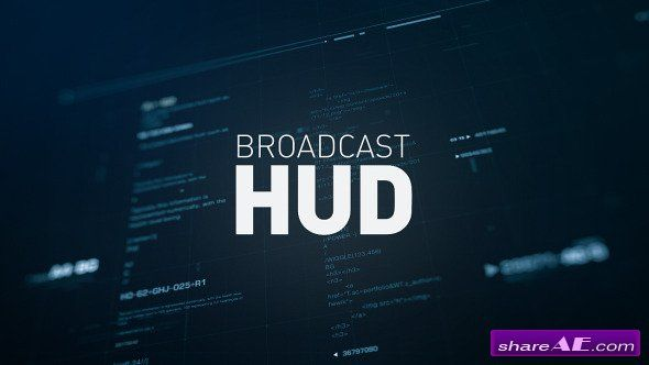 Videohive Broadcast HUD - After Effects Templates | After Effect ...
