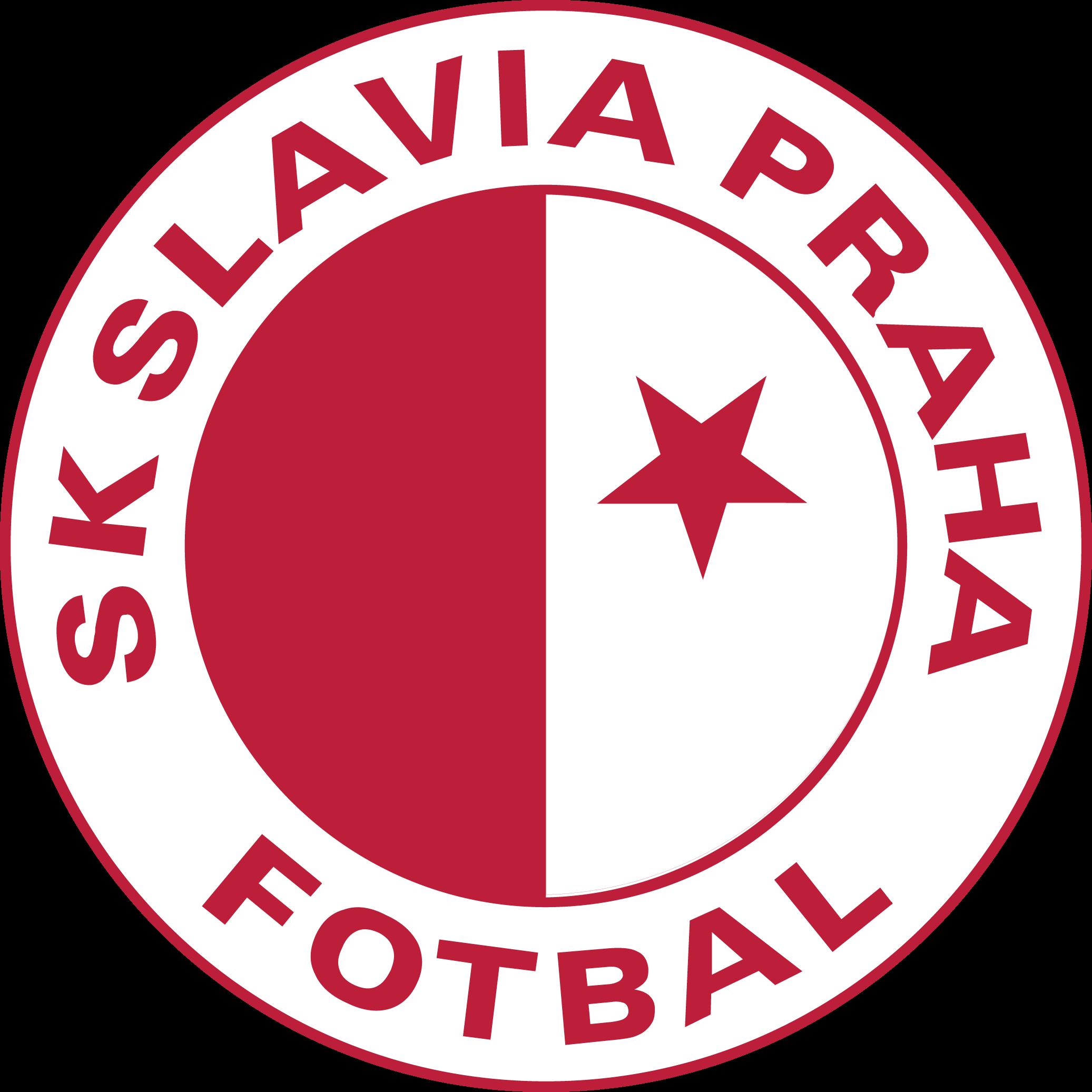 SK Slavia Praha Club badge, Prague, Historical logo