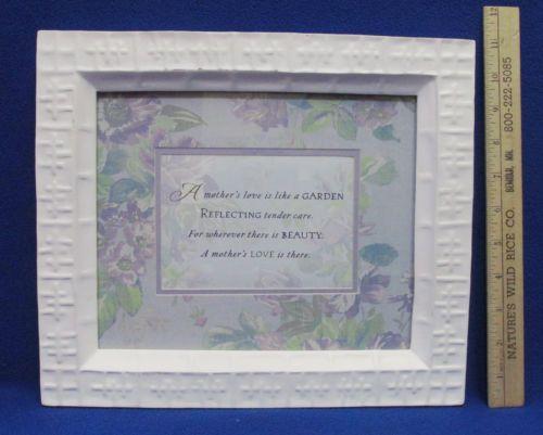 Framed Mother's Day poem