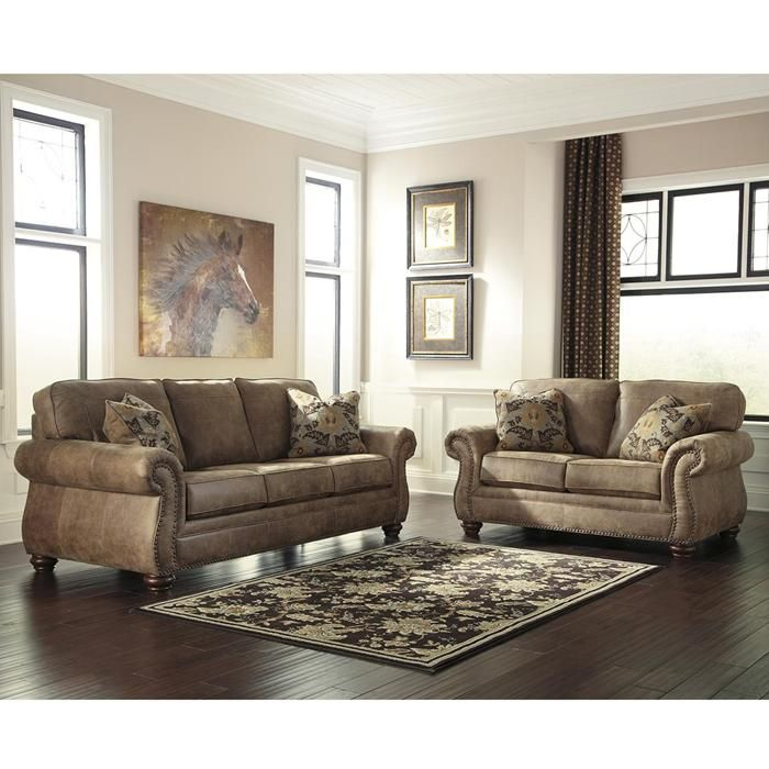 Larkinhurst Sofa In Earth Nebraska Furniture Mart Sofa And