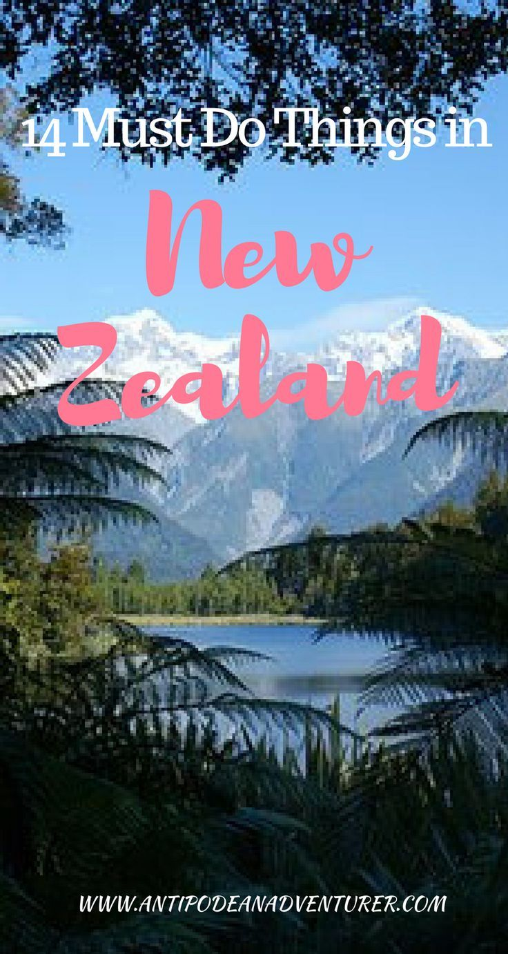 14 Must Do Things in New Zealand (from a local!) Italian