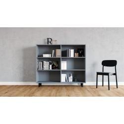 Photo of Regalsystem Grau – Flexibles Regalsystem: Hochwertige Qualität, einzigartiges Design – 152 x 130 x 3