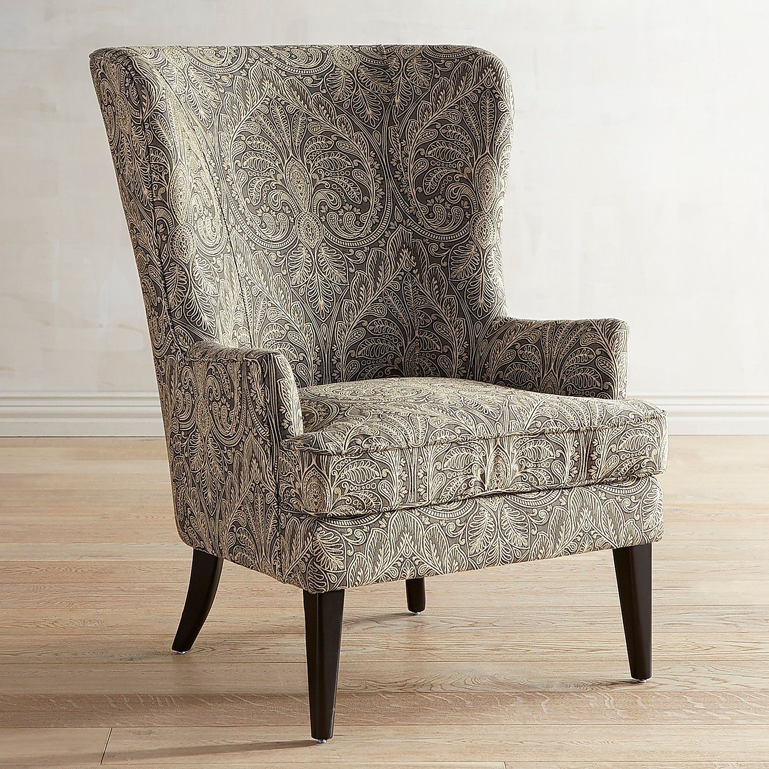 Asher Verse Nailhead Trim Ink Blue Chair Upholstered chairs