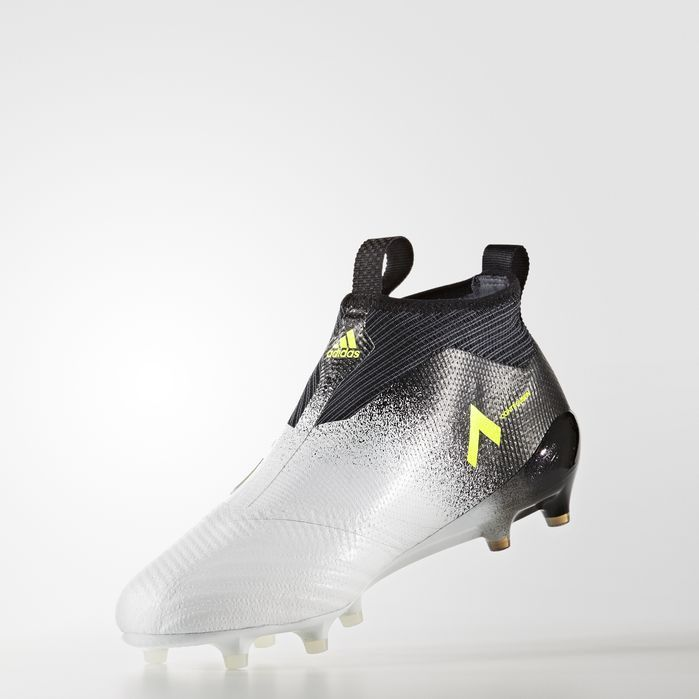 new arrival 7cd63 f571e ACE 17+ Purecontrol Firm Ground Cleats Running White Ftw 10.5 Mens