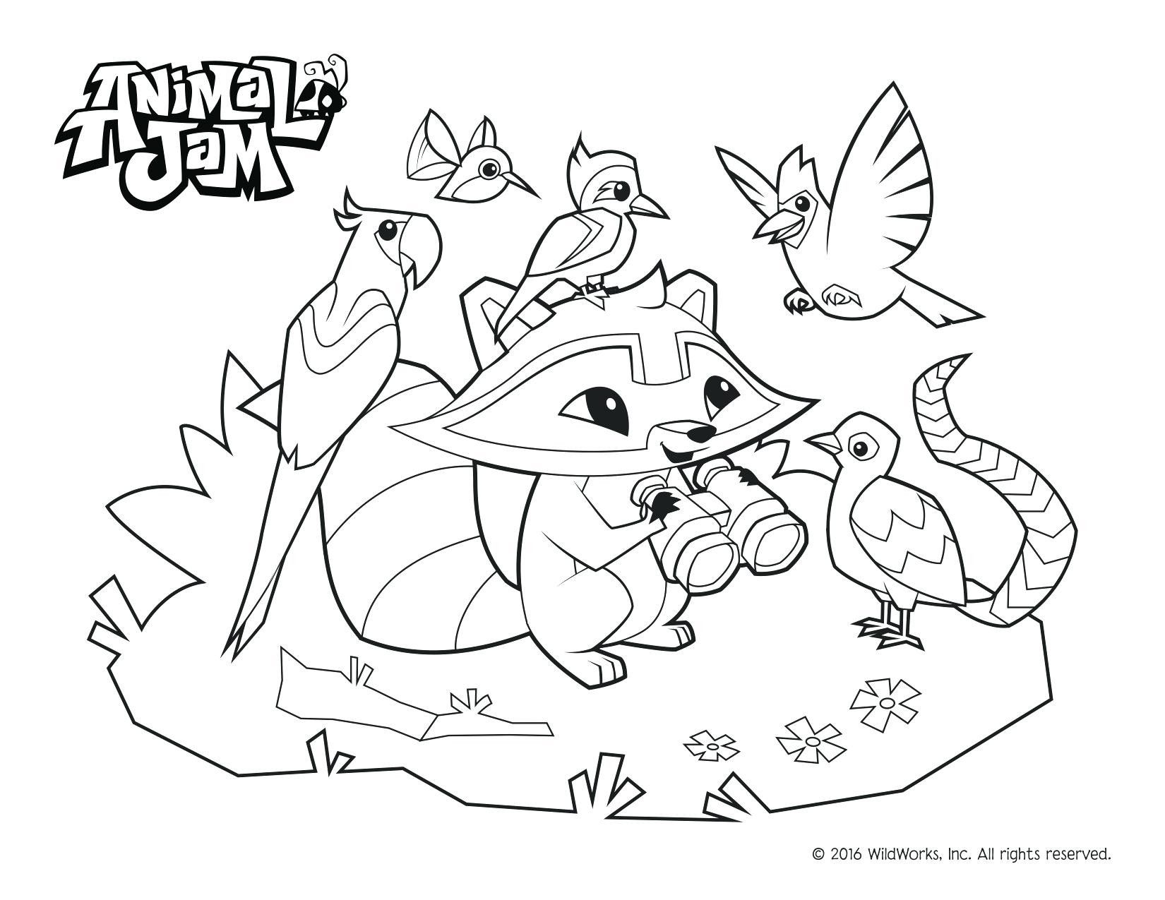 Animal Jam Coloring Pages With Images Animal Coloring Pages
