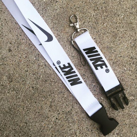 New NIKE White Lanyard!