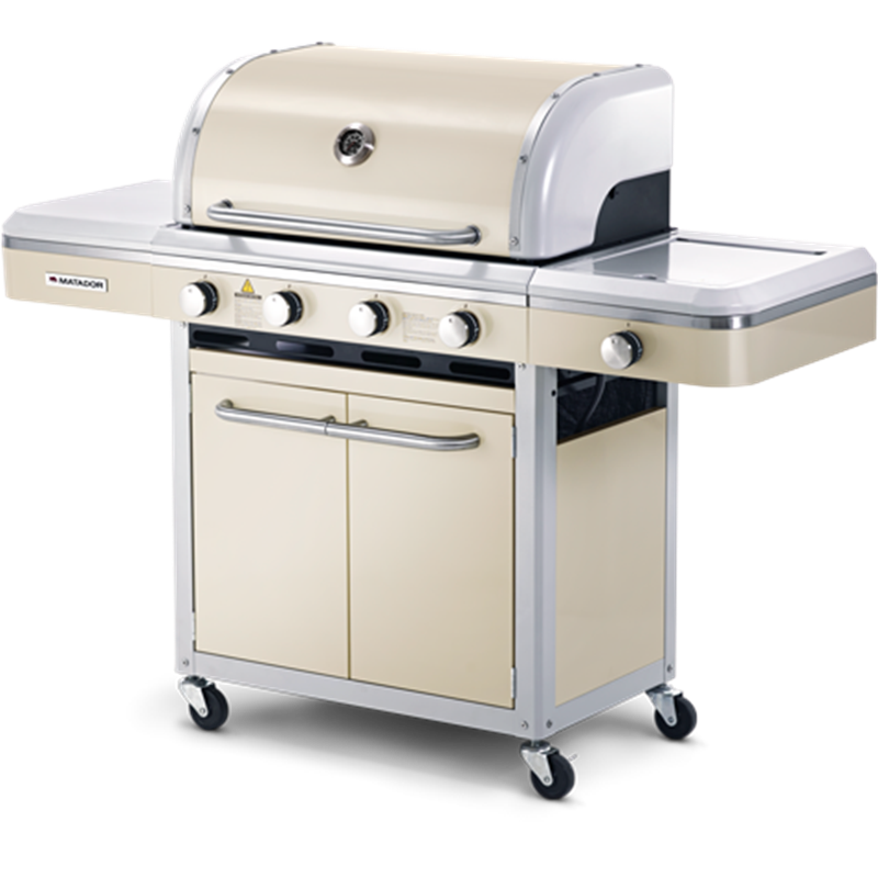 Matador Legend 4 Burner Hooded Barbeque Bunnings 549