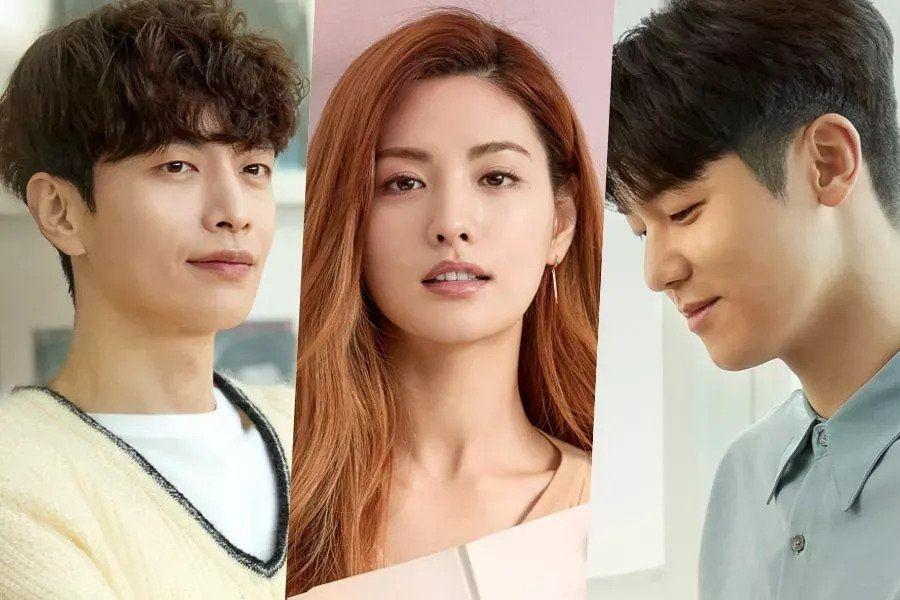 Lee Min Ki, Nana, And CNBLUE's Kang Min Hyuk Star In Posters For New Romance Drama