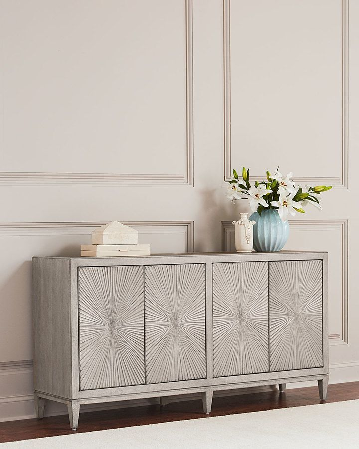 Hooker Furniture Starburst Pattern Console In 2019 Dinning Room