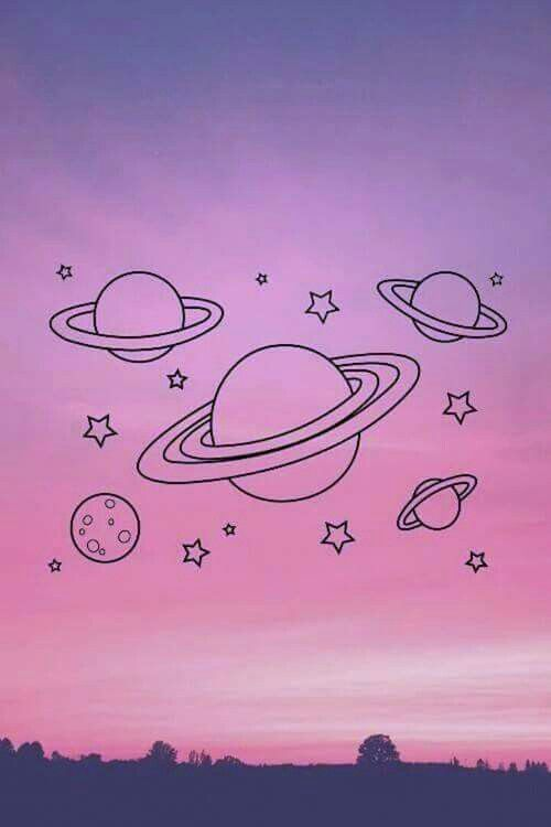 Pin By Valentblue On Pic Space Doodles Alien Aesthetic Tumblr Iphone Wallpaper