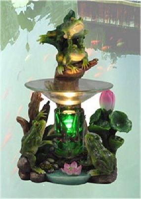 Lotus Pond Electric Frog Oil Burner(FREE SHIPPING)