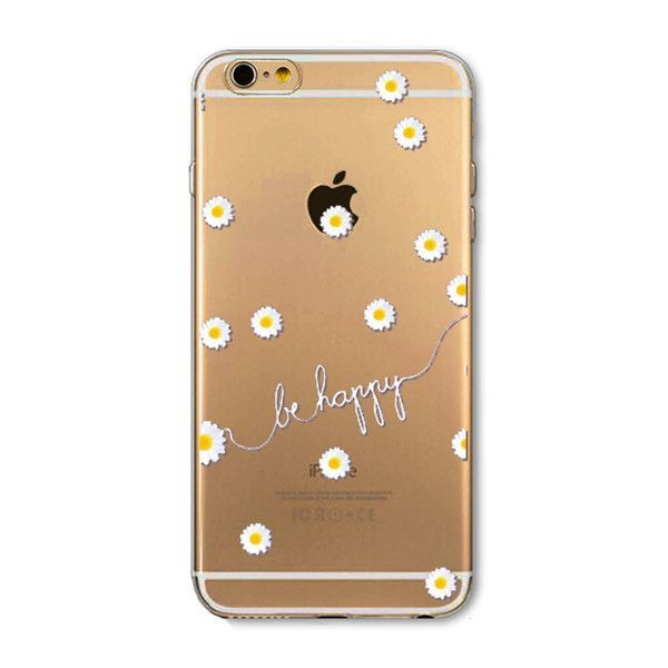 Hot Selling Fashion Transparent Soft Silicone TPU Cover Case For Apple iPhone 6 case 6S case EC808/EC766