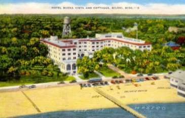 Buena Vista Hotel U S Highway 90 On The Beach In Biloxi