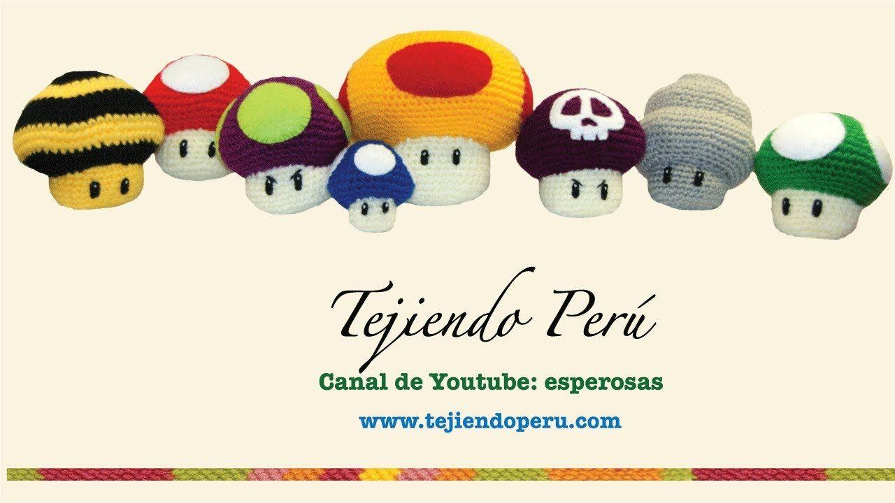 Hongos de videojuegos tejidos en crochet (amigurumi) (+lista de ...