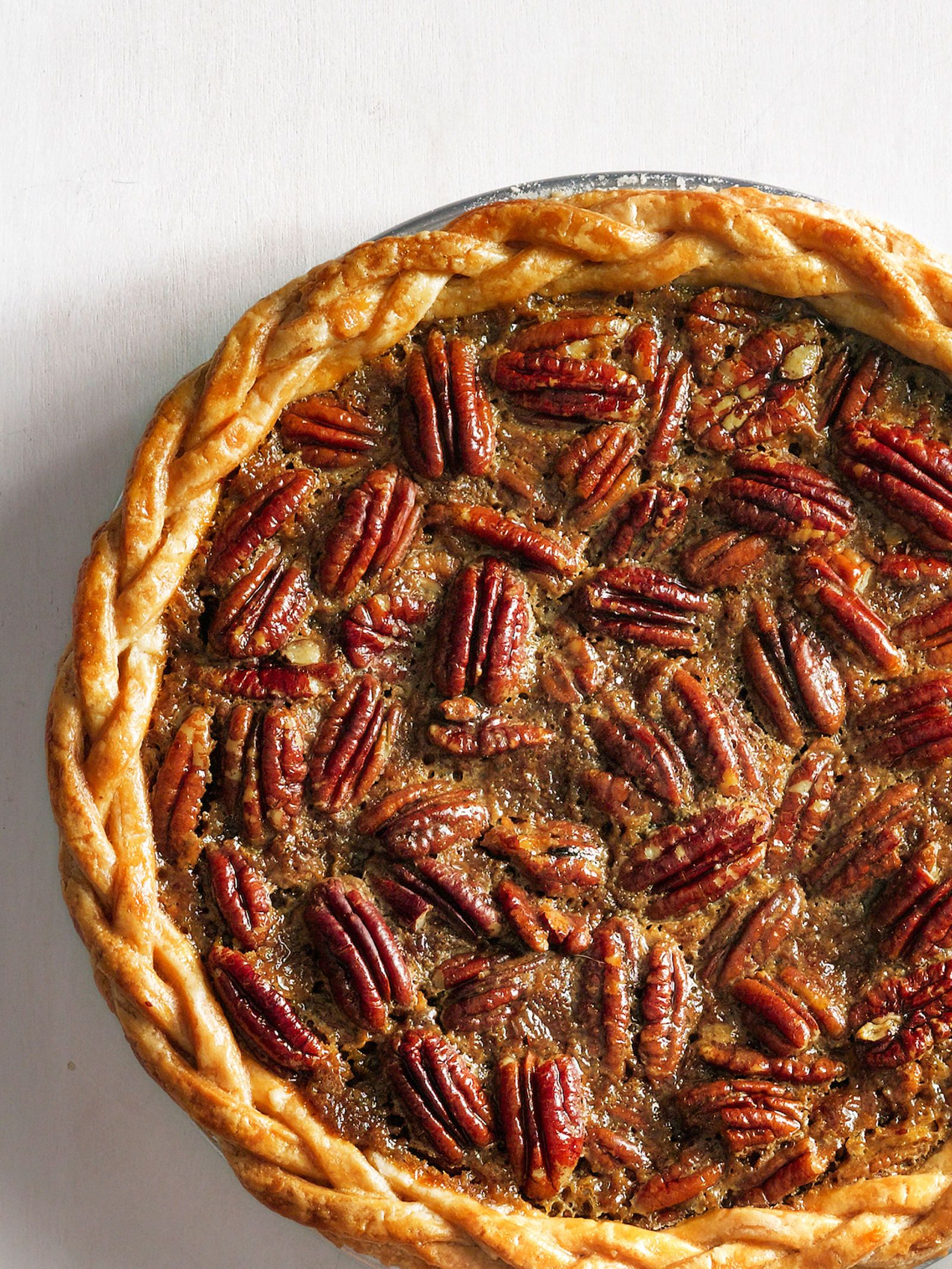 Old-Fashioned Pecan Pie #pecanpie