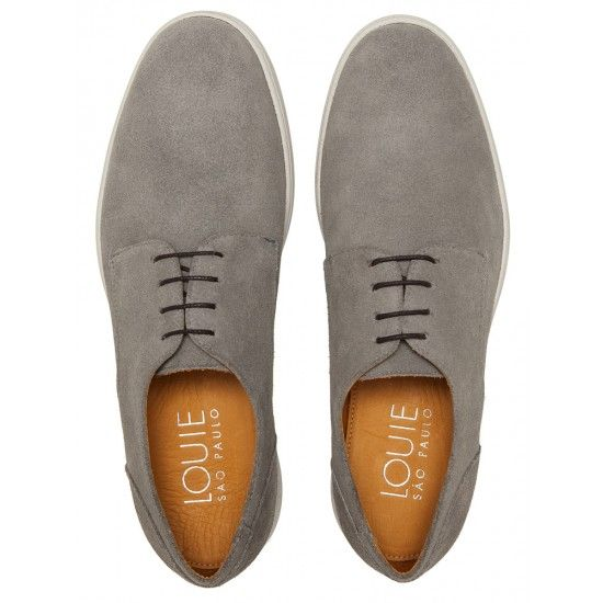a86ac9bb1 Sapato Masculino Derby Naas Grey | Calçados | Shoes sneakers, Dress ...