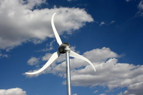 Photo Of A Residential Wind Turbine Solar Wind Pinterest