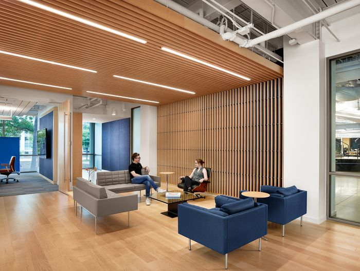 Trend Micro Offices Austin Trend Micro Wood Slat