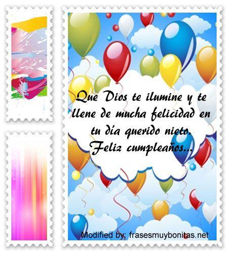 Bellas Frases De Cumpleaños Para Mi Nieto Con Imágenes