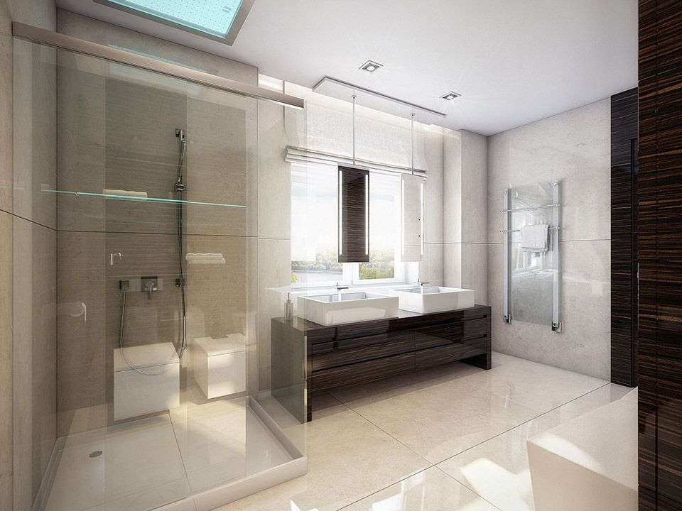 Modern white walnut bathroom with shower glass ideas interior design ideas and inspiration with quality hd images of modern white walnut bathroom with