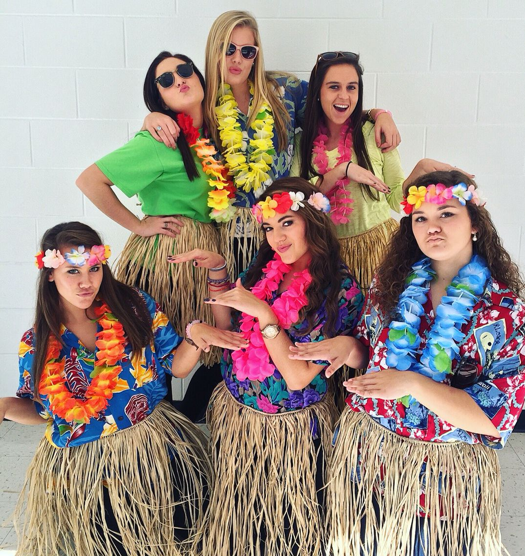 Tropical Day #SpiritWeek #Costume #Hawaiian | My Pins | Pinterest | Hawaiian Costumes And Luau
