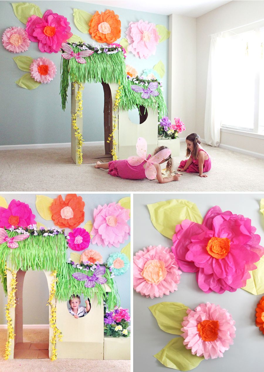 Flor gigante papel pesquisa google decorations pinterest giant tissue paper flower tutorial part 1 at home with natalie mightylinksfo