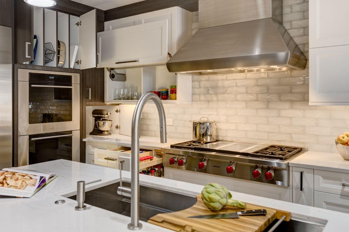 Chicago kitchen transformation chicago kitchens and divider