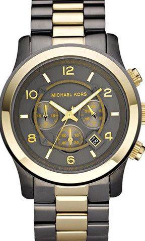 michael kors mens chronograph gunmetal gold watch mk8160 michael kors mens chronograph gunmetal gold watch mk8160 designer watch discounts