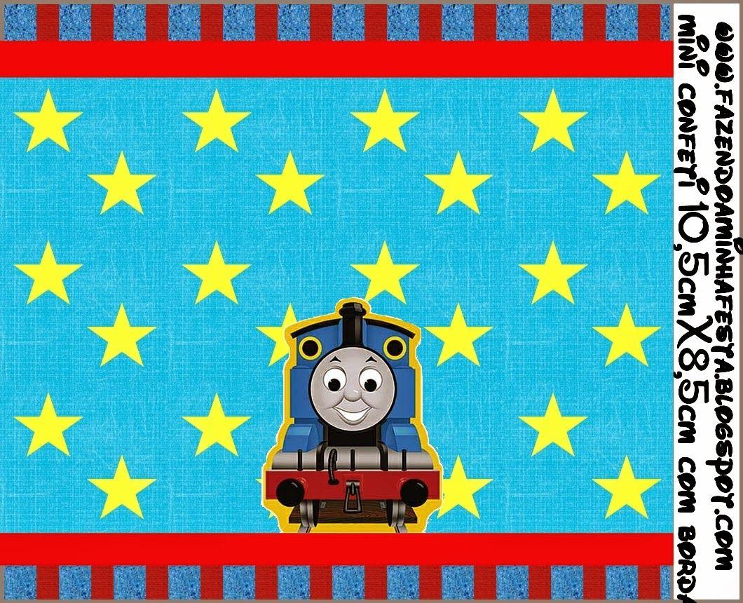 Thomás el Tren: Etiquetas para Imprimir Gratis.   iker   Pinterest ...
