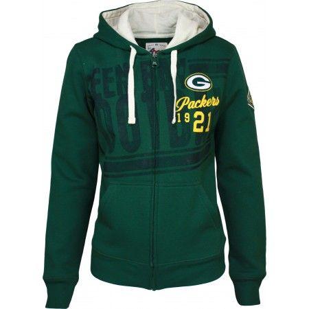 b89d5938 Green Bay Packers Women's Strong Side Zip Hoodie $59.99 | Go Pack Go ...
