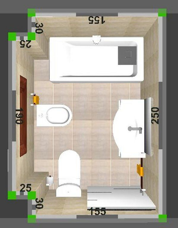 Resultado de imagen para planos de cuartos de ba o for Distribucion cuarto de bano pequeno