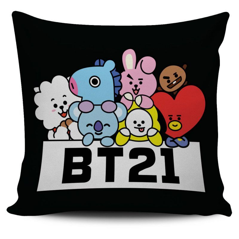 BTS BT21 Pillow KM | Personalized